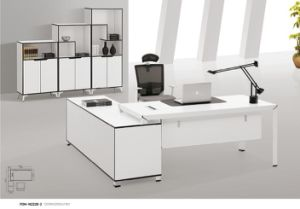White Office Desk with Drawers Wholesale in Guangzhou pictures & photos