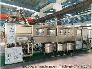 Automatic 5 Gallon Bottle Washing Filling Capping Machine pictures & photos