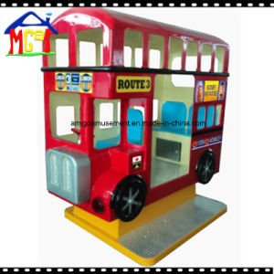 2017 Three Seats London Bus Coin Operated Kiddie Ride pictures & photos