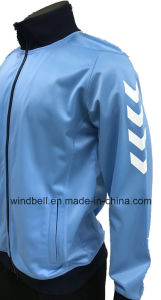 High Quality Bright Colored Sweat Fleece Jacket for Men with Trico pictures & photos