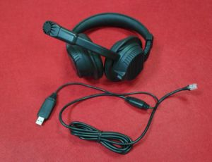 Fresh Noise Cancelling Retro Directional Cheap USB Headset pictures & photos