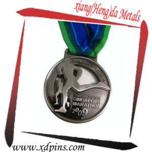 Custom Factory Price Metal Running Sport Theme Medal pictures & photos