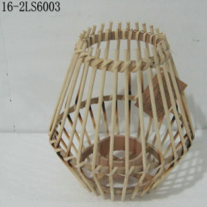 White, Black and Natural of Fashion Bamboo Lanterns with Handle pictures & photos