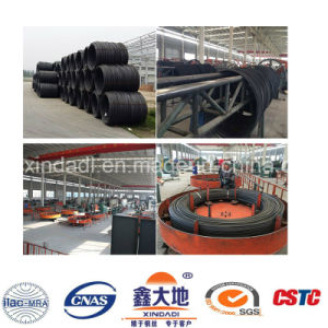 7.0mm ISO9001 Low Relaxation Spiral Steel Wire pictures & photos