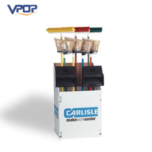Cleaning Sanitary Tools Broom Cardboard Pallet Display for Supermarket Display pictures & photos