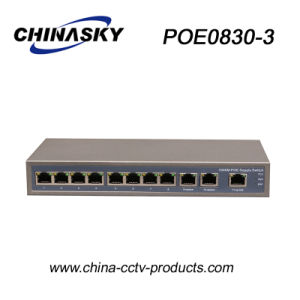 11 Port Full Gigabit Poe Network Switch (POE0830-3) pictures & photos