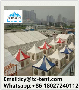 3X3m, 4X4m, 5X5m PVC Decorated Pagoda Tent for Outdoor Wedding Party Events pictures & photos