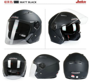 Half Face Motorcycle Helmet with Double Lens for Four Seasons pictures & photos