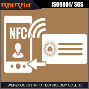 13.56MHz Printable Programmable Paper NFC Business Card pictures & photos