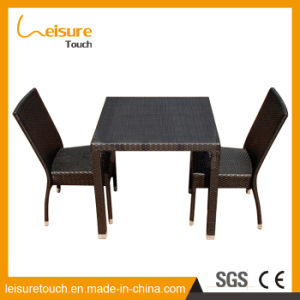 New Design High Standard PE Rattan Hotel Home Dining Chair Restaurant Table Set Garden Outdoor Patio Furniture pictures & photos