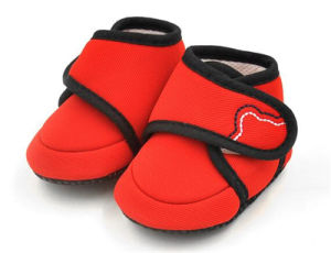 Soft Baby Indoor Shoes for Sleeping pictures & photos