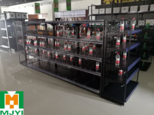 Supermarket Display Stand Shelf Racks Convenient Metal Racks pictures & photos