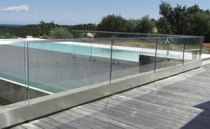 Custom Exterior Deck Glass U Channel Railing/Balustrade pictures & photos