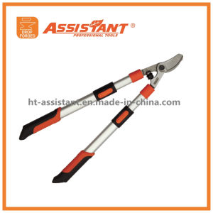 Pruning Shears Telescopic Extendable Aluminum Handles Drop Forged Anvil Loppers pictures & photos