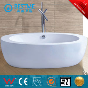 New Design High Quality Acrylic Freestanding Simple Bathtub (BT-Y6022) pictures & photos
