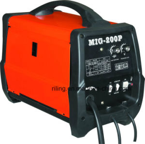 Gas/No Gas MIG Welding Machine (MIG-175P/195P/200P) pictures & photos