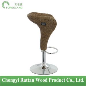 PE Rattan Bar Chair Counter Stool PS-10 pictures & photos