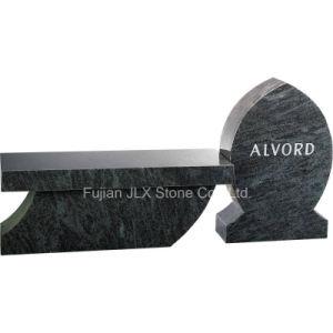 Bahama Blue Granite Cremation Bench Memorials pictures & photos