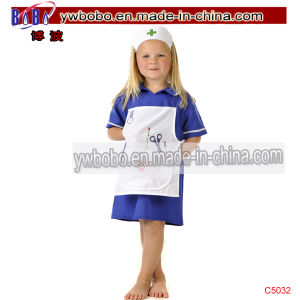 Party Supply Hospital Childrens Dress up Doctor Party Costumes (C5032) pictures & photos