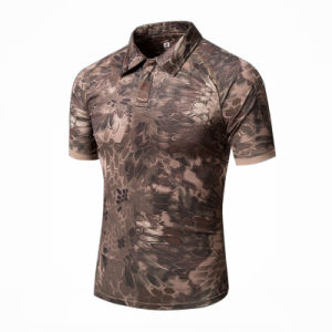 Summer Quick-Dry Sunscreen Tactical Combat T-Shirt pictures & photos