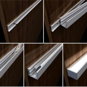 J4207 Low LED Strip Wall Mount Aluminum Profile Extrusion Linear Light pictures & photos