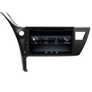 Android 6.0 2017 for Toyota Corolla Car Multimedia with Bt Mirror Link GPS