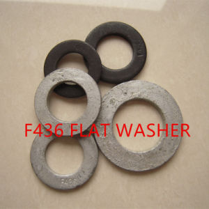 F436 M18 Carbon Steel Flat Washers pictures & photos
