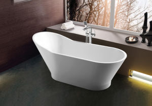 (K1529) Freestanding Acrylic Bathtubs / Massage Whirlpool Bathtubs pictures & photos