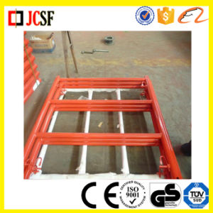 Yellow Powder Coated Scaffolding Ladder Frame pictures & photos