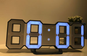 Ce/RoHS Certificate LED Alarm Wall Clock pictures & photos