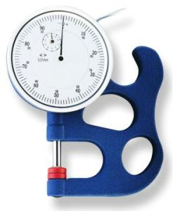 Dial Thickness Gauge with Ceramic Contact/Steel Contact pictures & photos