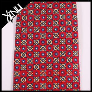 Handmade Custom Print Red Tie in Silk Ties for Men pictures & photos