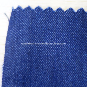 7.2 Oz Dark Blue Denim Fabric (T148) pictures & photos