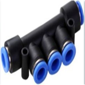 Pk 5 Ways Plastic Pneumatic Fittings pictures & photos