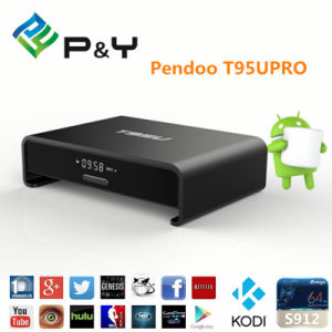 2016 New Pendoo T95u PRO Amlogic S912 2GB 16GB Android 6.0 pictures & photos