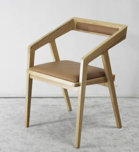 Modern Hotel Restaurant Dining Furniture Wooden Dining Chair (HC-LW205) pictures & photos