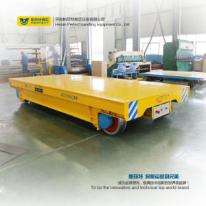 Heavy Material Transfer Trolley in-Plant Use Rail Guided Transfer Cart pictures & photos