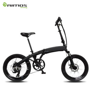 Changzhou Aimos Hidden Battery Super Light Foldable E Bicycle pictures & photos