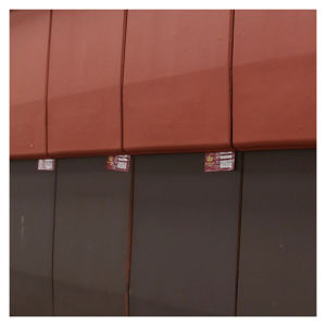Clay Roof Tile Interlocking Water/Snow Proof Roof Tile pictures & photos