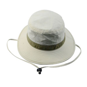 Custom Fishing Men Caps Bucket Hat Wide Brim Safari Man Hat pictures & photos