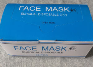 Health Care Non Woven Medical Surgical Face Mask pictures & photos