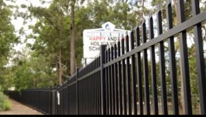 Hot Sales PPG Powder Coated Pressed Spear Steel Security Steel Fencing pictures & photos