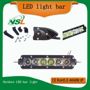 LED Outdoor Flood Light 30W Crees Xte LED Light Bar LED Crees LED Light Bar Cheap LED Light Bars pictures & photos