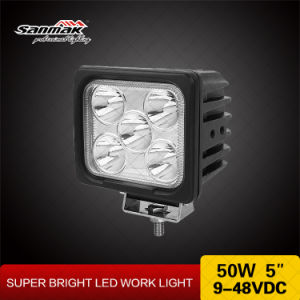 5′′ 50W IP68 CREE LED Heavy Duty Work Light pictures & photos
