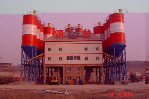 Hls120 Concrete Batching Plant with High Quality Sales in Russia pictures & photos