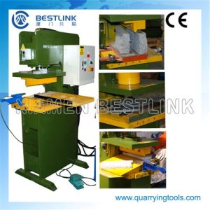 Three in One Hydraulic Stone Stamping Machine for Making Firepits pictures & photos