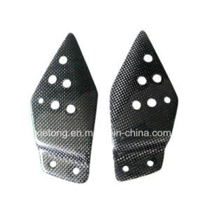 Carbon Fiber Motorcycle Parts Heel Guards for Kawasaki Z1000 Z750