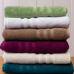 Customized Colorful Towel Quality Cotton Terry Bath Towels for Home pictures & photos