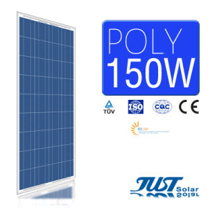 Hot Sale 150W Poly Solar Panel with Certification of Ce CQC and TUV