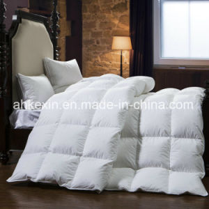 Custom Size 75% White Duck Down Comforter Set pictures & photos